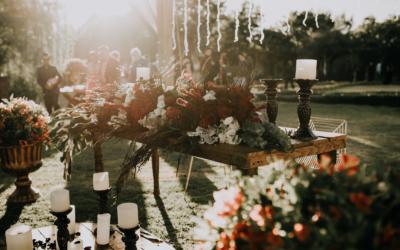La décoration végétale pour un mariage