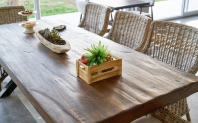 Comment relooker une table à manger ?